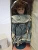 """Marian Yu Designs 15""""  Porcelain Brenda Doll NEW"""