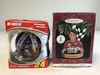 JEFF GORDON Lot of 2 Christmas Ornaments. New