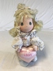 Precious moments applause plush Doll with stand
