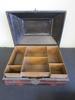VTG Asian Wood and Metal Cigarette Box
