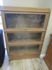 VTG Wood and Glass Lawyers Cabinet