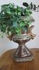 Ceramic Planter with Silk Plant