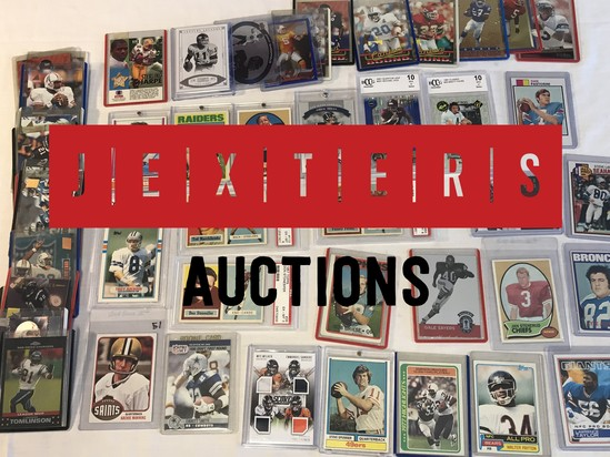 Jexters Baseball Sports Card Auction - 02/17/19