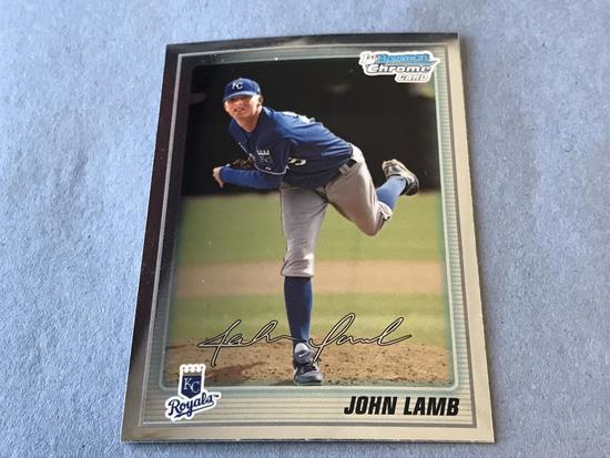 JOHN LAMB 2010 Bowman Chrome ROOKIE Card
