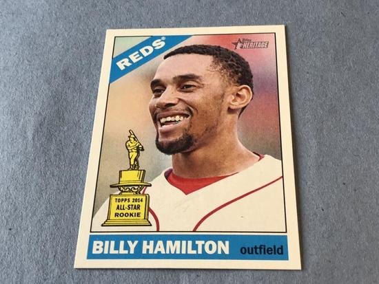 BILLY HAMILTON 2015 Topps Heritage SP Trophy Card