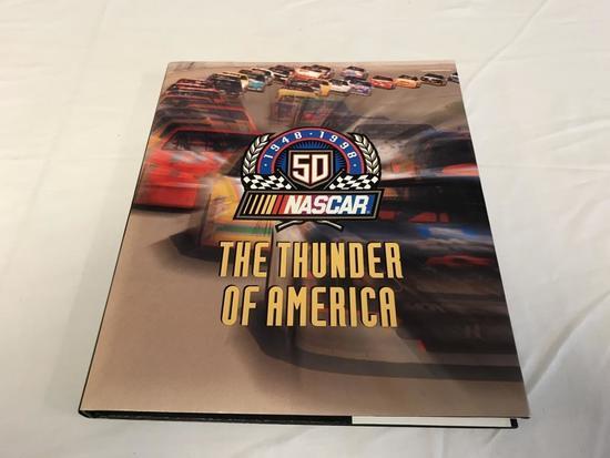 NASCAR 1948-1998 The Thunder Of America HC Book