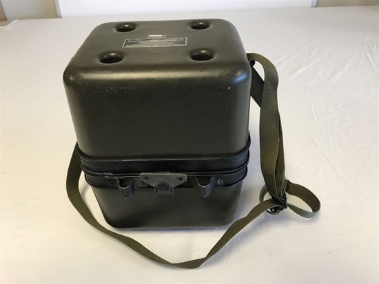 ARMY MILATARY COOLANT CARTRIDGE CASE