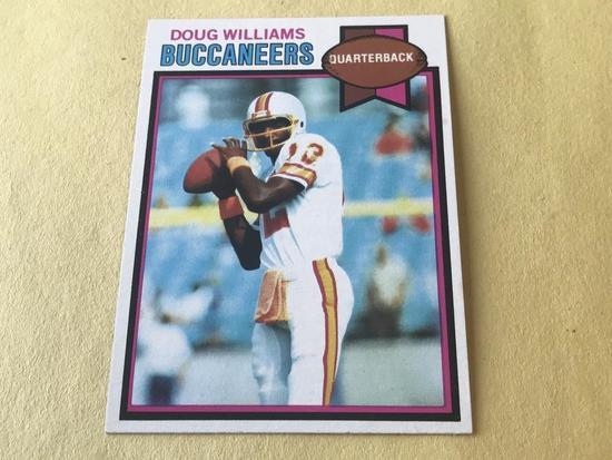 DOUG WILLIAMS 1979 Topps Football ROOKIE Card