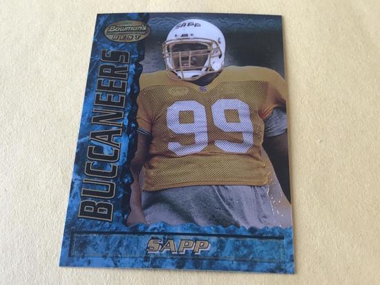 WARREN SAPP 1995 Bowman Best Football ROOKIE Card