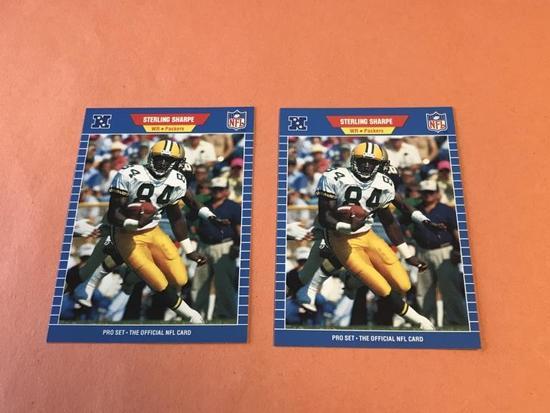 DERRICK THOMAS Lot of 4 1989 Pro Set ROOKIE Cards-
