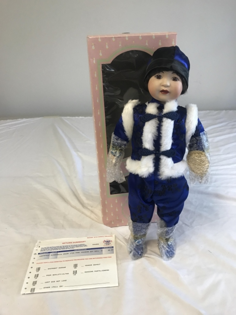 Jexters Timed Online Doll Auction - 03/24/2019