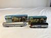 Amtrak Locomotive & Observation Car HO Scale