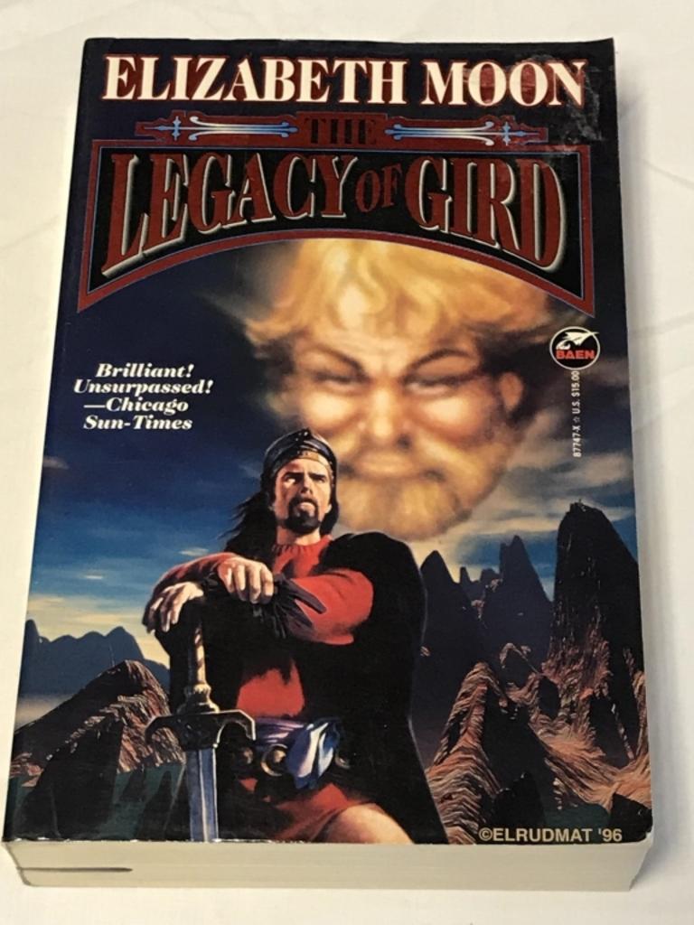 THE LEGACY OF GIRD Elizabeth Moon PB Book 1996
