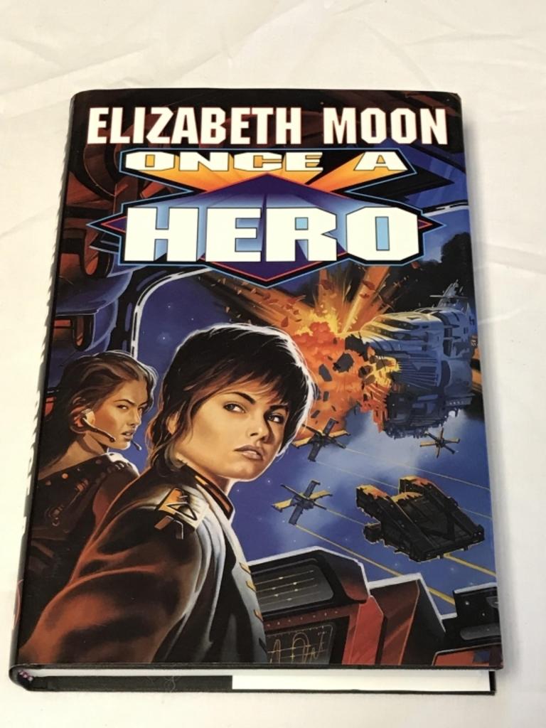 ONCE A HERO Elizabeth Moon HC Book 1997