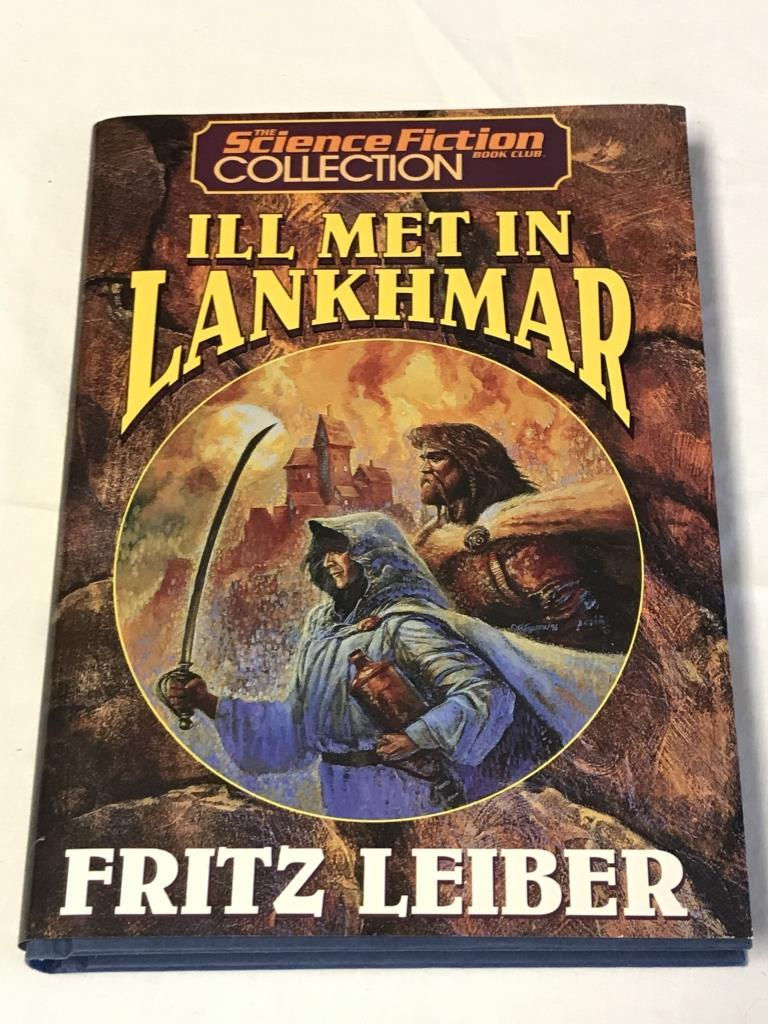 ILL MET IN LANKHMAR Fritz Leiber HC Book 1996