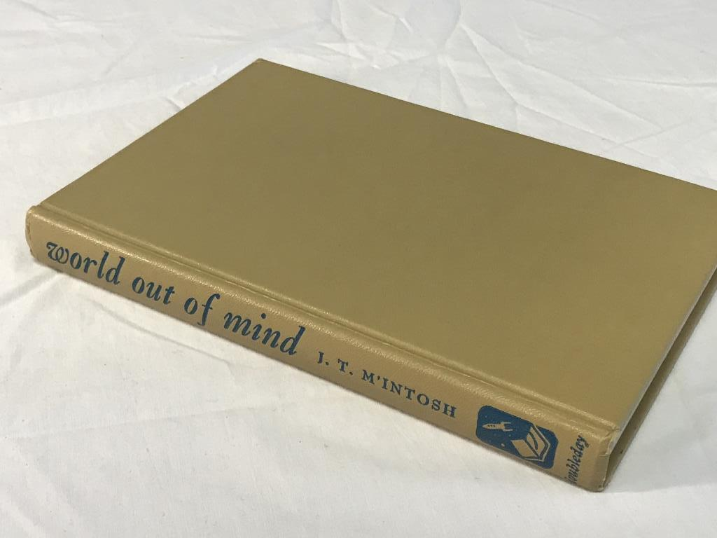 WORLD OUT OF MIND J. T. M'INTOSH 1953 HC Book