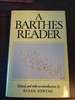 A Barthes Reader: Edited by  Susan Sontag