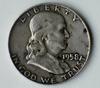 1958-D Franklin Silver Half Dollar Coin