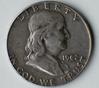 1962-D Franklin Silver Half Dollar Coin