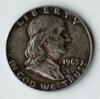 1963-D Franklin Silver Half Dollar Coin