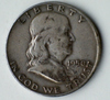 1950-D Franklin Silver Half Dollar Coin