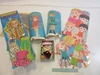 Vintage Paper Doll Sets Including Outfits