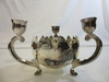 Silver Plated Flower / Candle Holder
