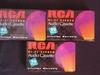Lot of 3 RCA Hi-Fi Stero Audio Cassette 90min