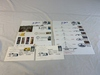 Lot of First Day Covers with 4 Autographs