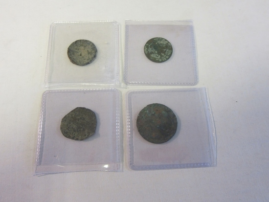 Lot of 4 Ancient Greece Coins (4)