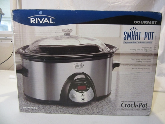 Rival Gourmet Smart Pot Crock Pot