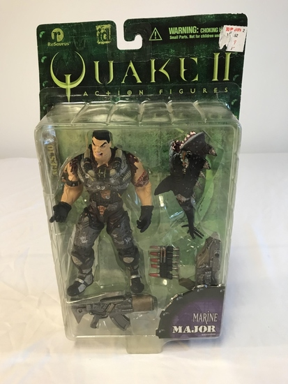 QUAKE II Marine Major Action Figure NEW