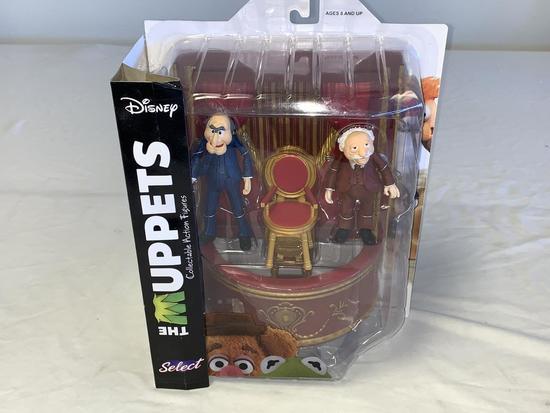 Disney  Select  Muppets STATLER & WALDORF Figures