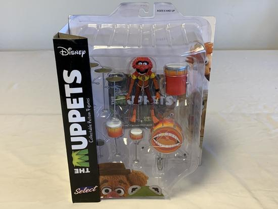 Disney Diamond Select The Muppets ANIMAL & DRUMSET