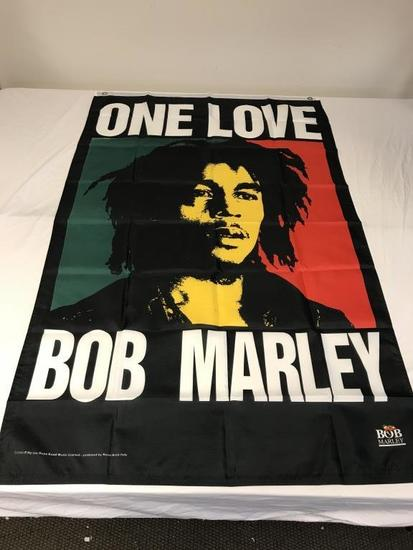 BOB MARLEY One Love 3'x5' Banner Wall Hanging NEW