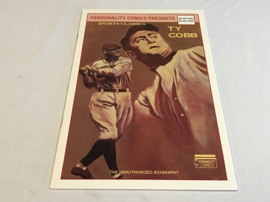 Personality Comics Sports Classics TY Cobb