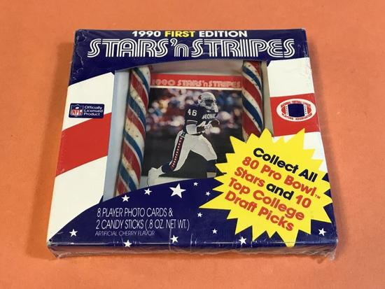 TIM MCDONALD 1990 Stars n Stripes Football Card