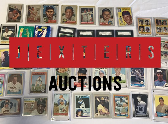 Jexters Timed Online Baseball Card Auction 11/10