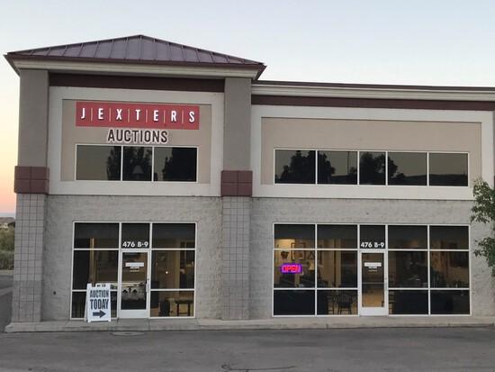 Jexters Live Public Sports Memorabilia Auction