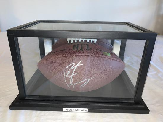 PEYTON MANNING Colts AUTOGRAPH Full Size Football