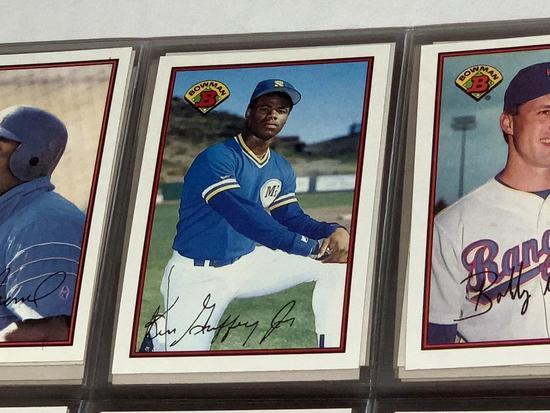 1989 Bowman Baseball set 1-484 Ken Griffey Jr RC
