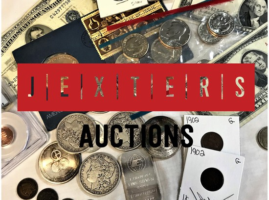 Jexters Online Coin and Currency Auction  11/22/19