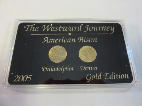 2005 P&D Westward Journey American Bison Gold Ed.