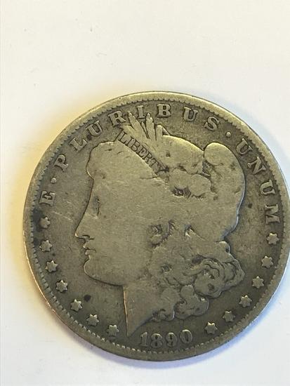 1890 Morgan Silver Dollar 90% Silver