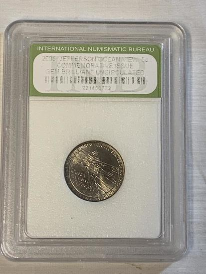 "2005P INB Grade Westward Journey ""Ocean"" Nickel"