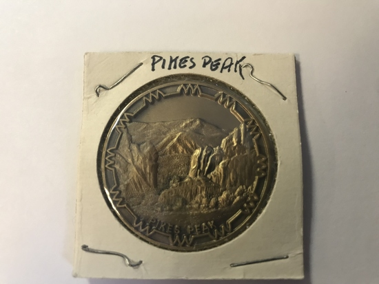 1977 Pikes Peak Landmarks of Colorado Medal