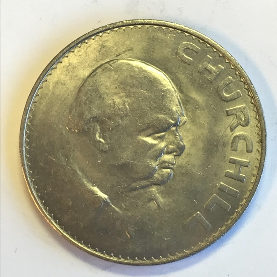1965 Great Britain Crown - Winston Churchill