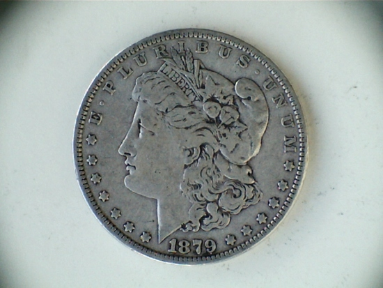 1879 .90 Silver Morgan Dollar