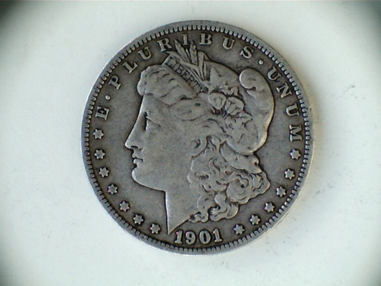 1901-O .90 Silver Morgan Dollar
