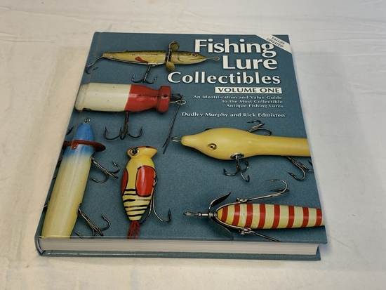 Fishing Lure Collectibles Volume 1 HC Book